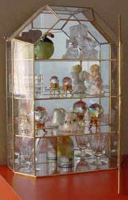 Medium Size Cathedral Top Cabinet